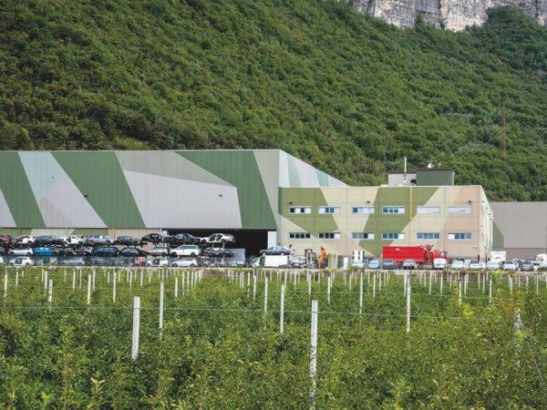 Edificio produttivo a Trento (TN)