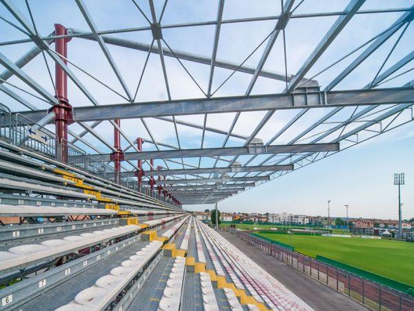 Tribuna stadio a Cittadella (PD)