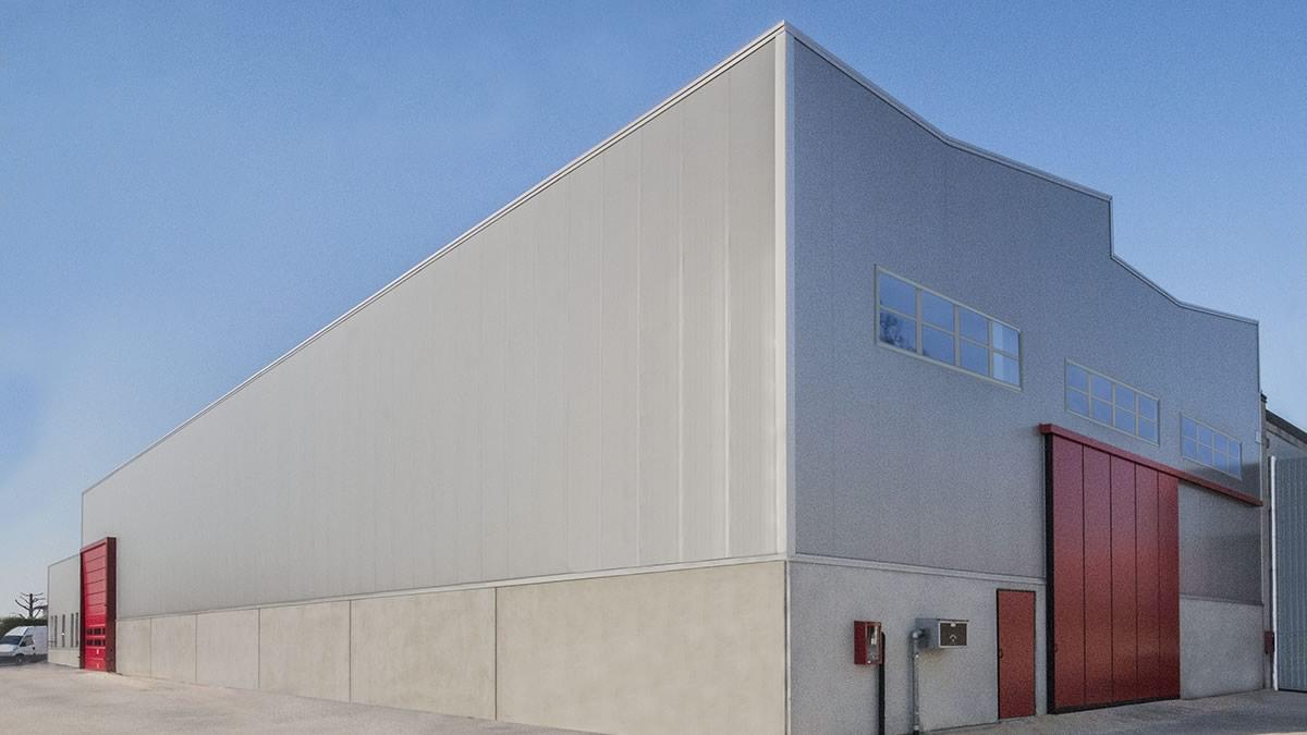 Capannone industriale in acciaio a Cartigliano, Vicenza (4)
