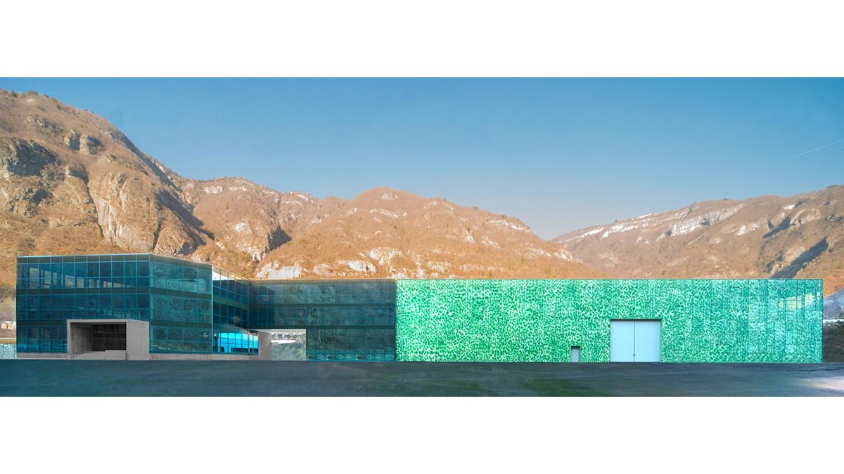 Priaforo: edificio produttivo in acciaio a Valdastico, Vicenza (5)