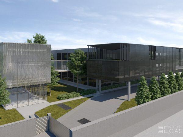 Palazzina uffici a Sovico (MB)