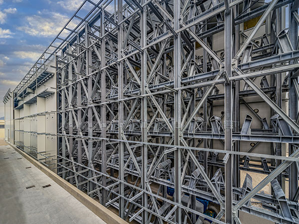 Magazzino automatizzato per coils a Fano (PU)