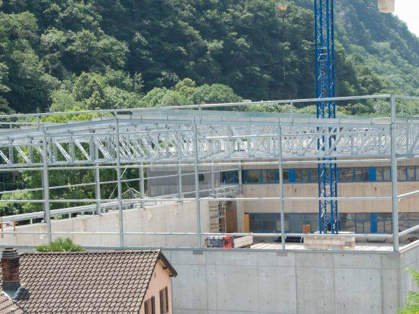 Edificio Industriale a Mezzovico (Svizzera)